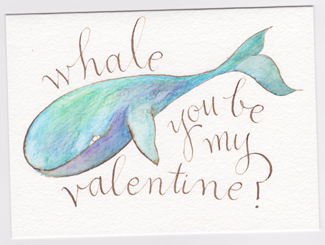 Whale You Be My Valentine